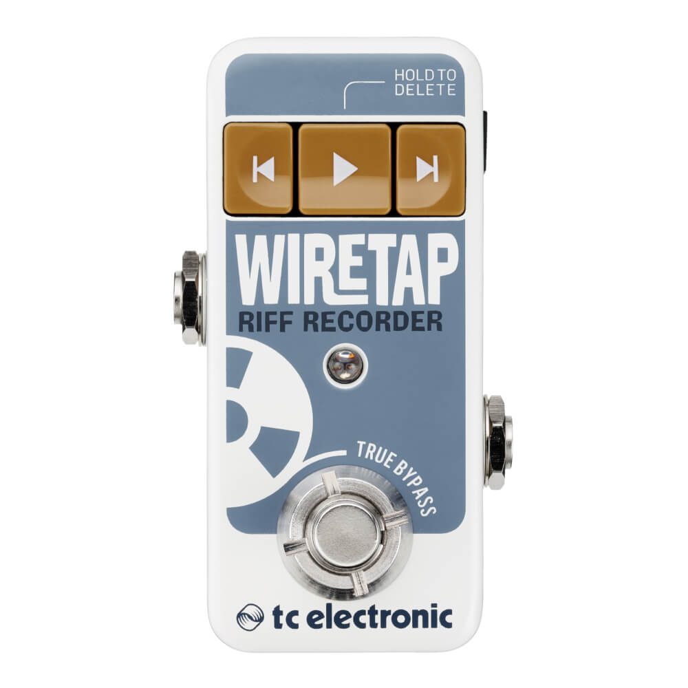 tc electronic <br>WIRETAP RIFF RECORDER