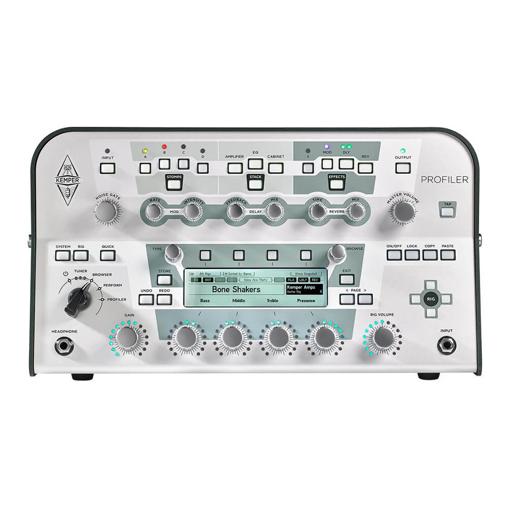 Kemper <br>Profiler Head White