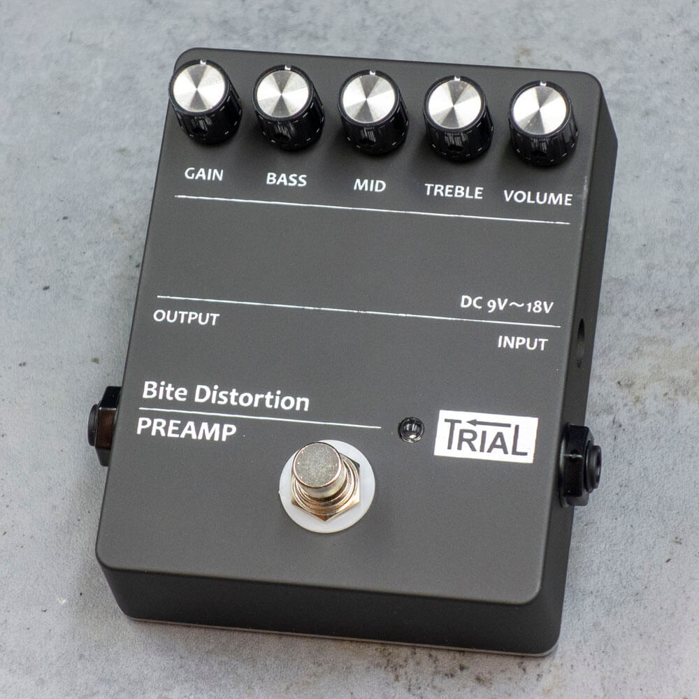 TRIAL <br>Bite Distortion/PREAMP