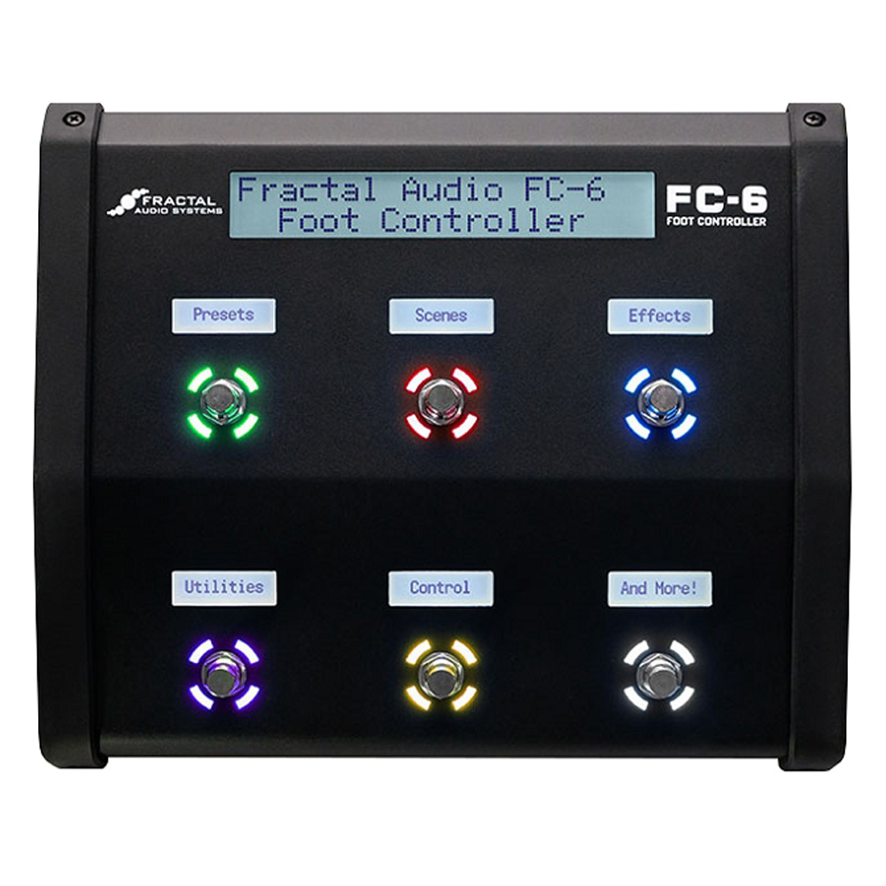 FRACTAL AUDIO SYSTEMS <br>FC-6 Foot Controller