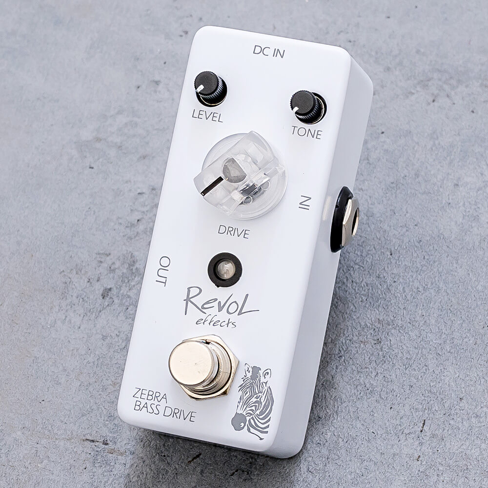 RevoL effects <br>ZEBRA BASS DRIVE EBOD-01
