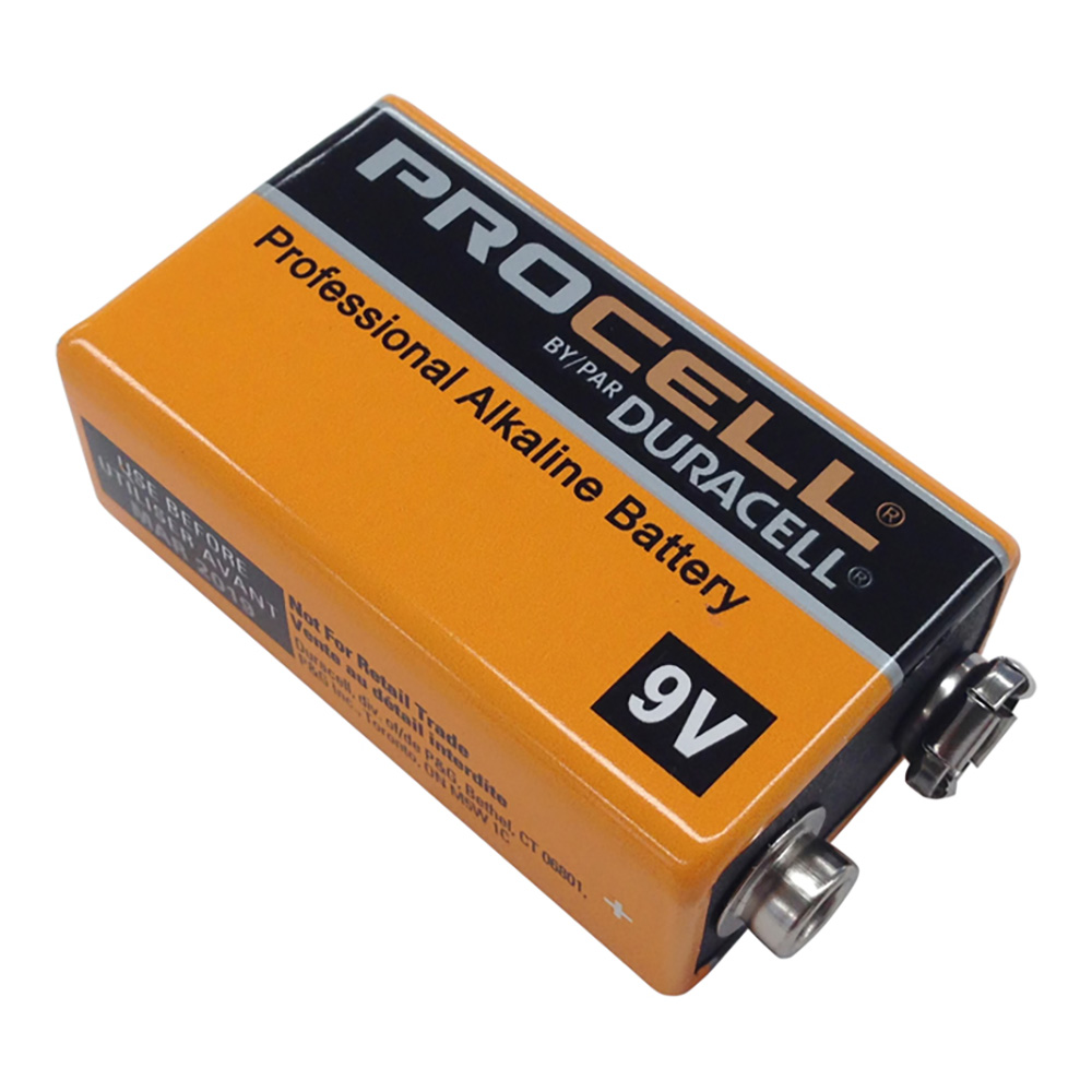 DURACELL <br>PROCELL 9V Battery