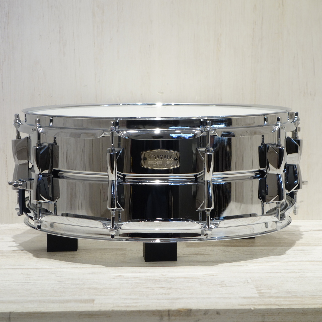 YAMAHA<br>14×5.5 Stage Custom Steel Snare Drums SSS1455