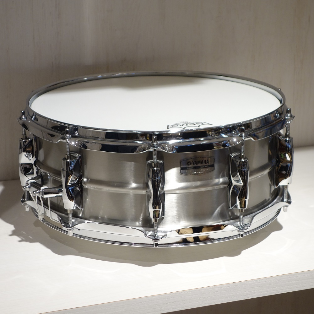 YAMAHA <br>14×5.5 RLS1455 Recording Custom Stainless Steel Snare Drums