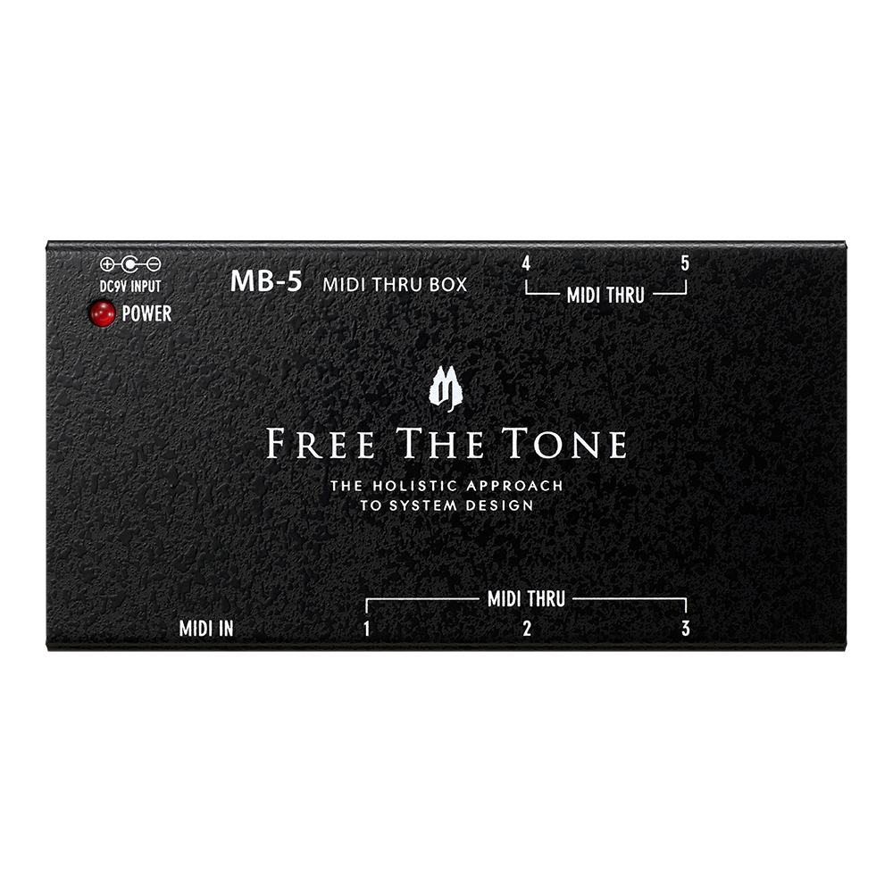 Free The Tone <br>MB-5 MIDI THRU BOX