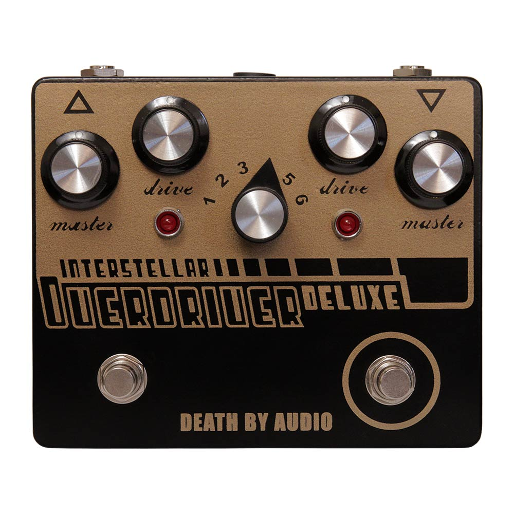 DEATH BY AUDIO <br>INTERSTELLAR OVERDRIVE DELUXE