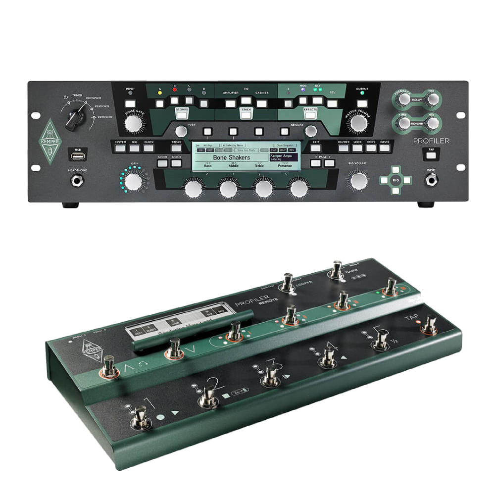 Kemper <br>Profiler Rack & Remote Set