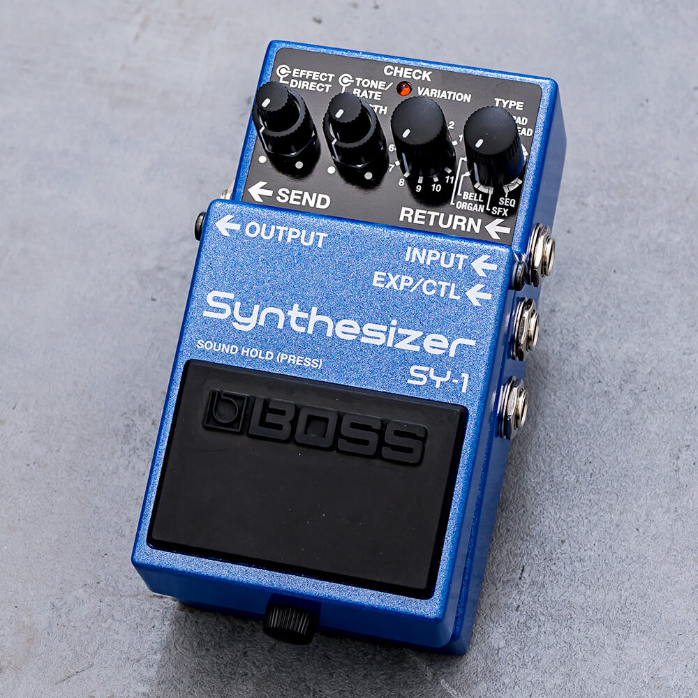 BOSS <br>SY-1 Synthesizer