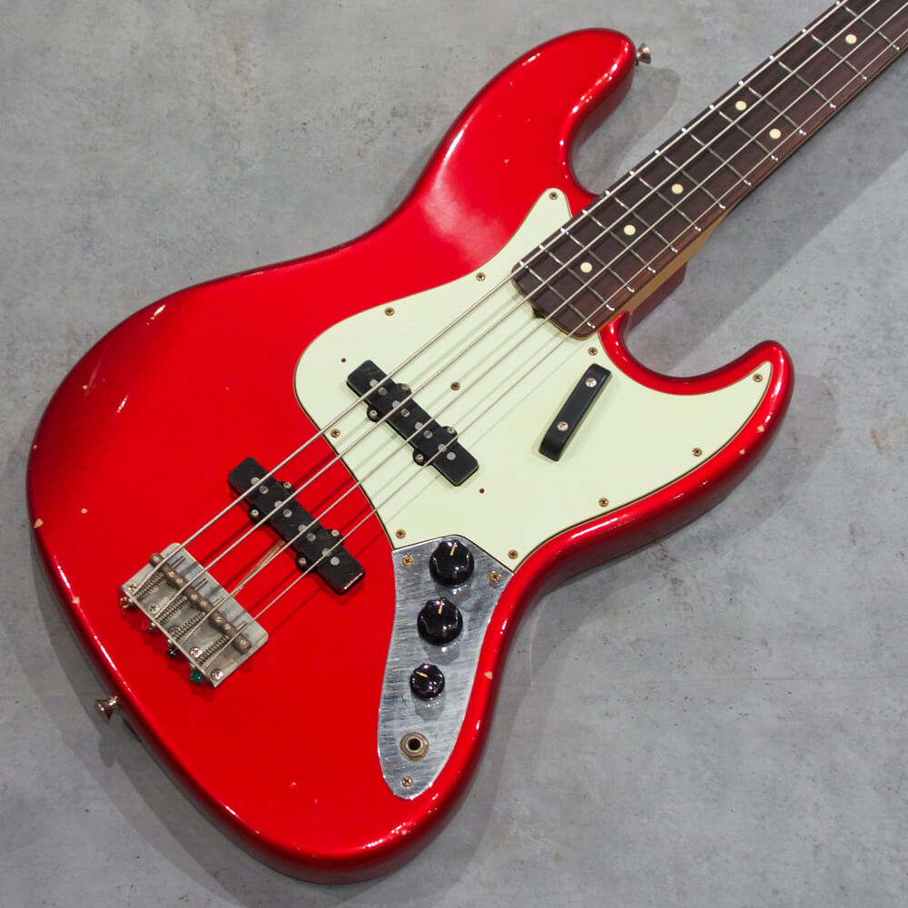 Fullertone Guitars <br>JAY-BEE 60 Soft Rusted Candy Apple Red #1906300