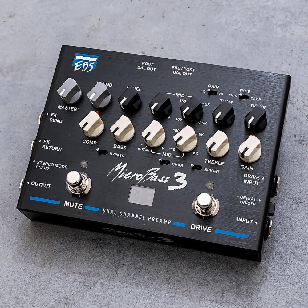 EBS <br>MicroBass 3 Professional Outboard Preamp