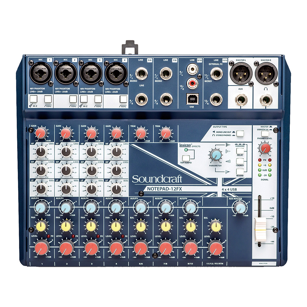 Soundcraft <br>Notepad-12FX
