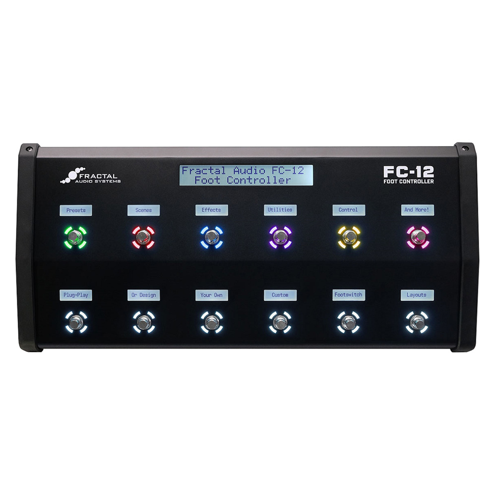 FRACTAL AUDIO SYSTEMS <br>FC-12 Foot Controller