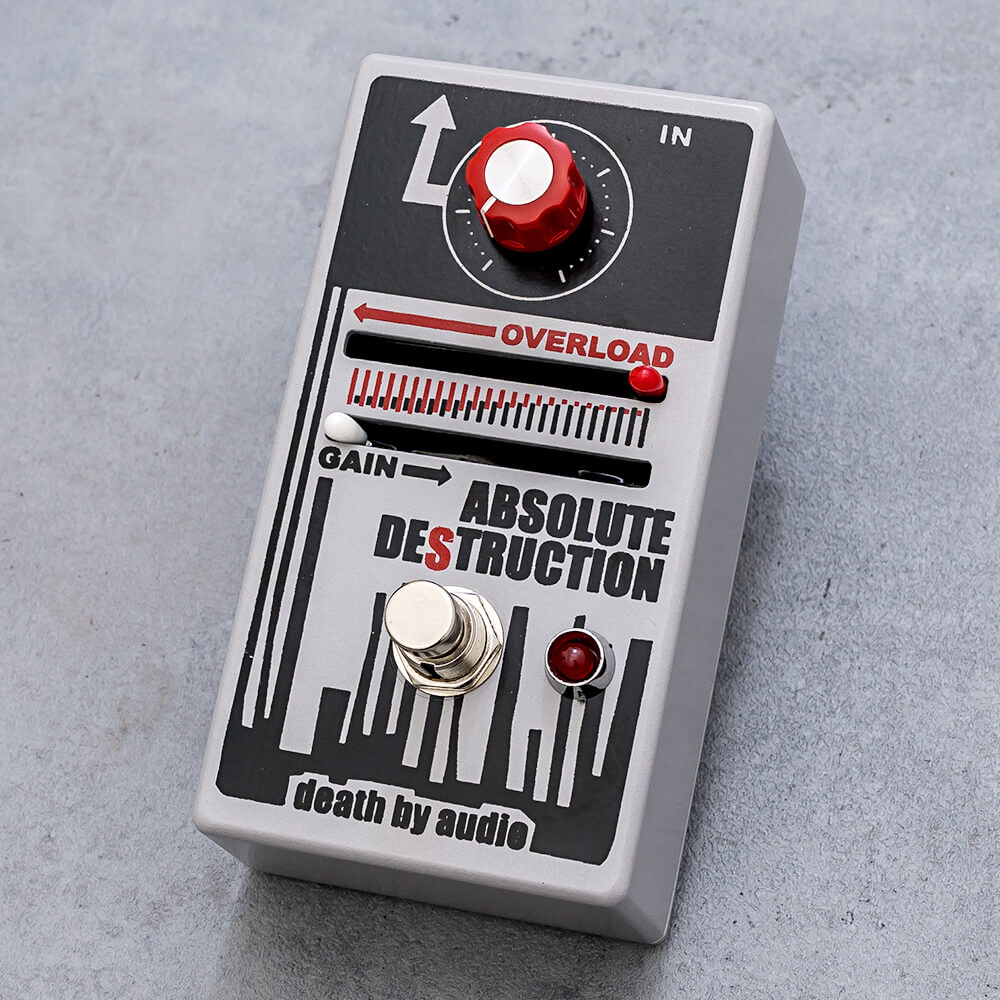 DEATH BY AUDIO <br>ABSOLUTE DESTRUCTION