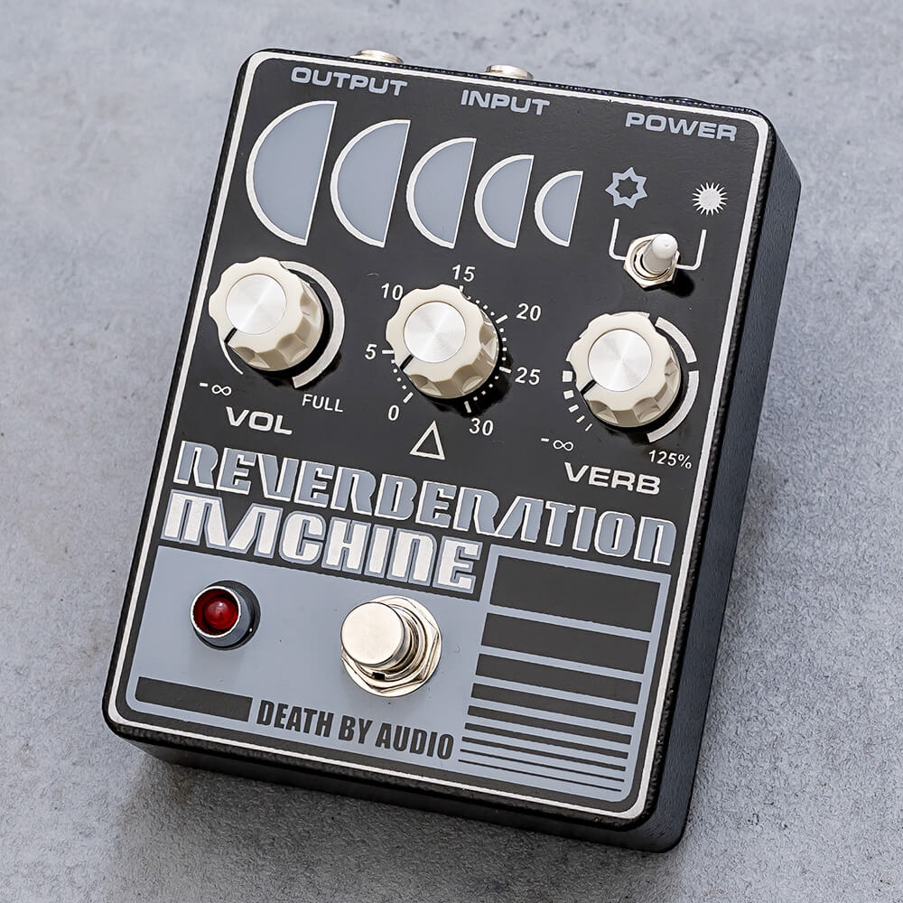 DEATH BY AUDIO <br>REVERBERATION MACHINE