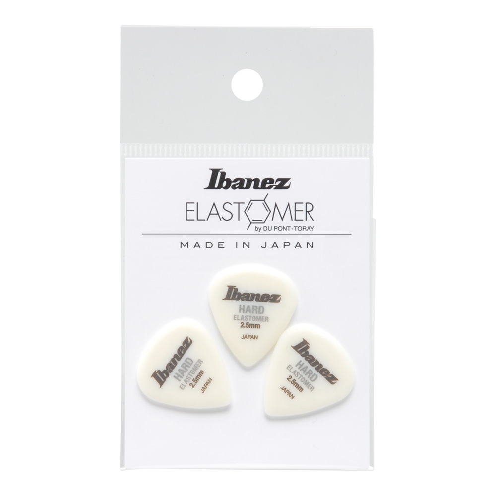 Ibanez <br>ELASTOMER Pick HARD 2.5mm [BELJ1HD25]