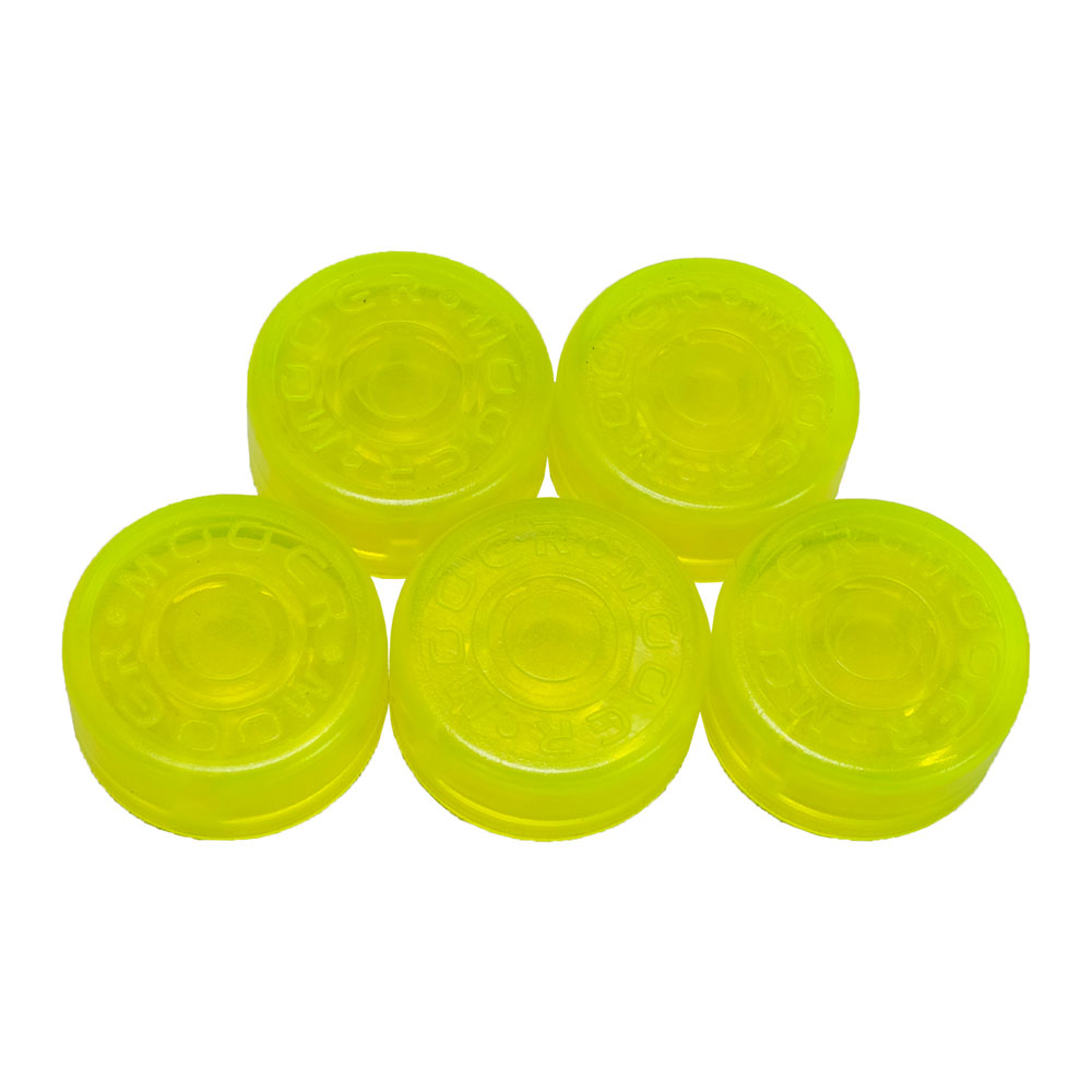 MOOER <br>Footswitch Hat Yellow Green FT-YG (5pcs)