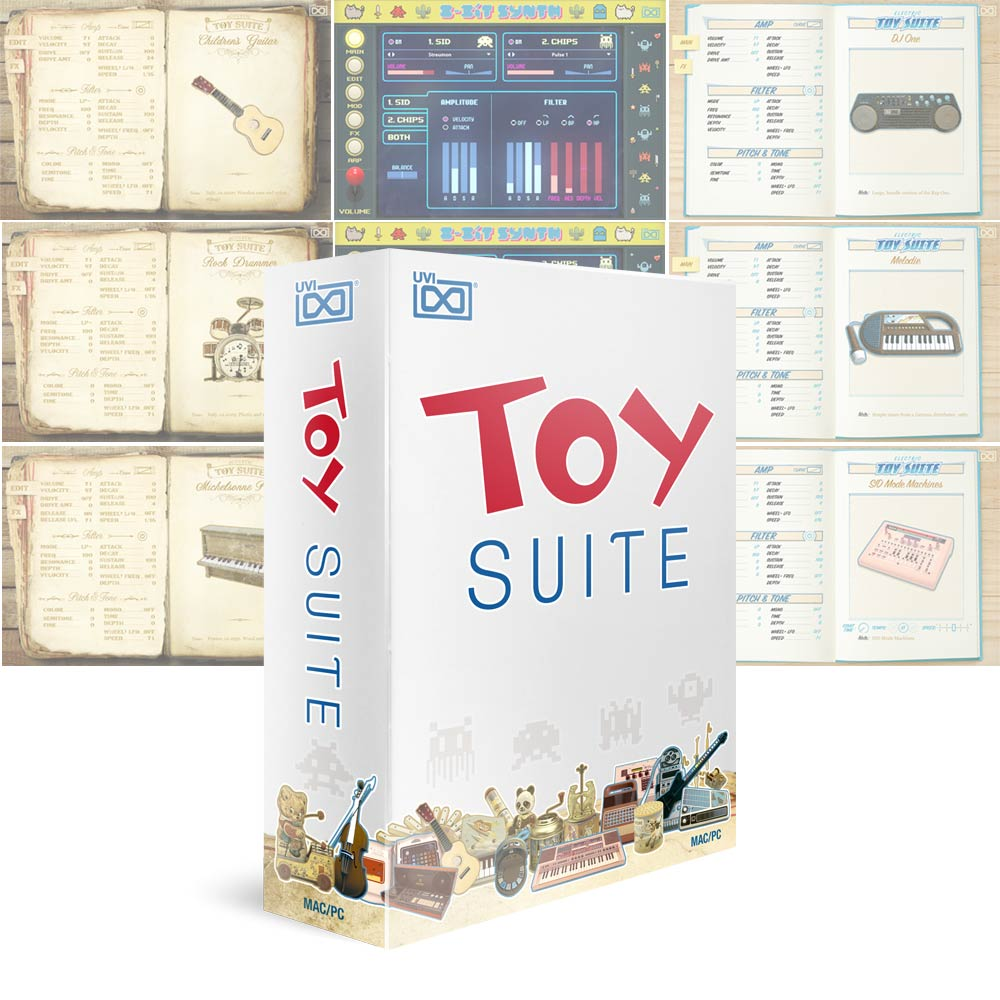 UVI <br>Toy Suite ダウンロード版