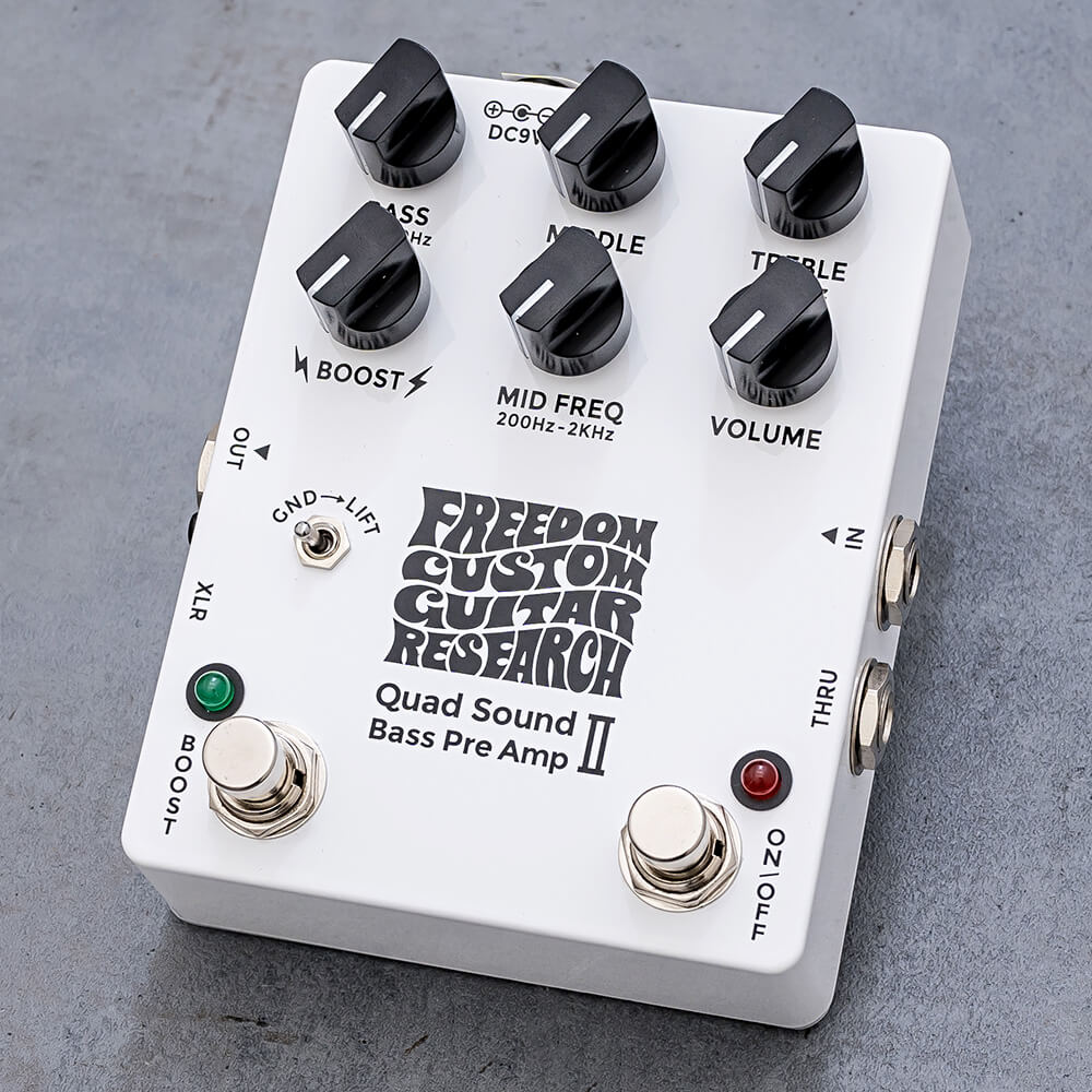 Freedom Custom Guitar Research <br>Quad Sound Bass Preamp II [SP-BP-03]