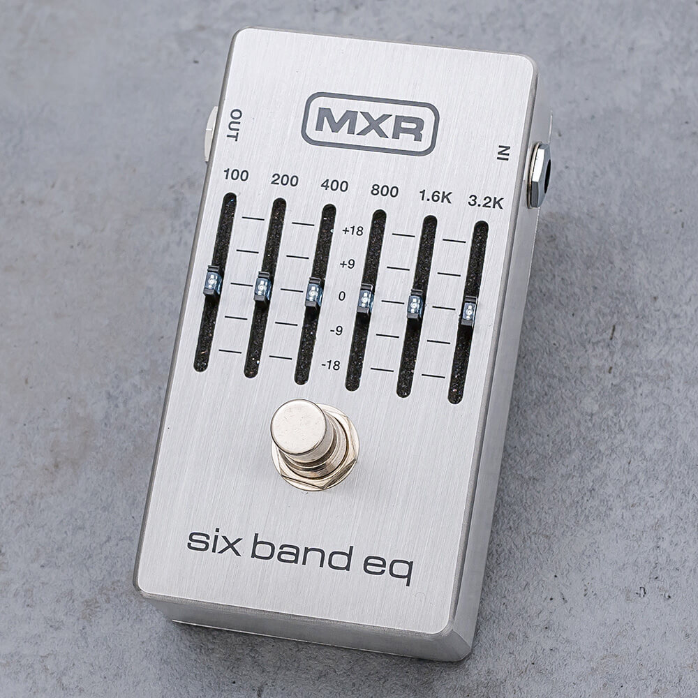 MXR<br> M109S Six Band Graphic EQ