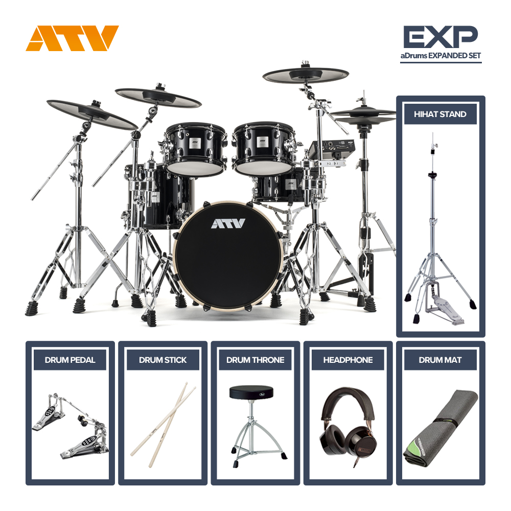 ATV <br>aDrums artist EXPANDED SET [ADA-EXPSET] ツインフルオプションセット