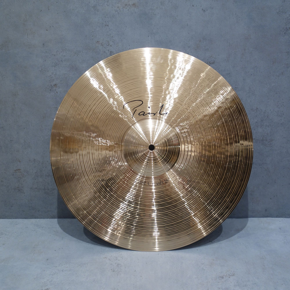 "PAiSTe <br> Signature""the.Paiste"" Fast Crash 18'"