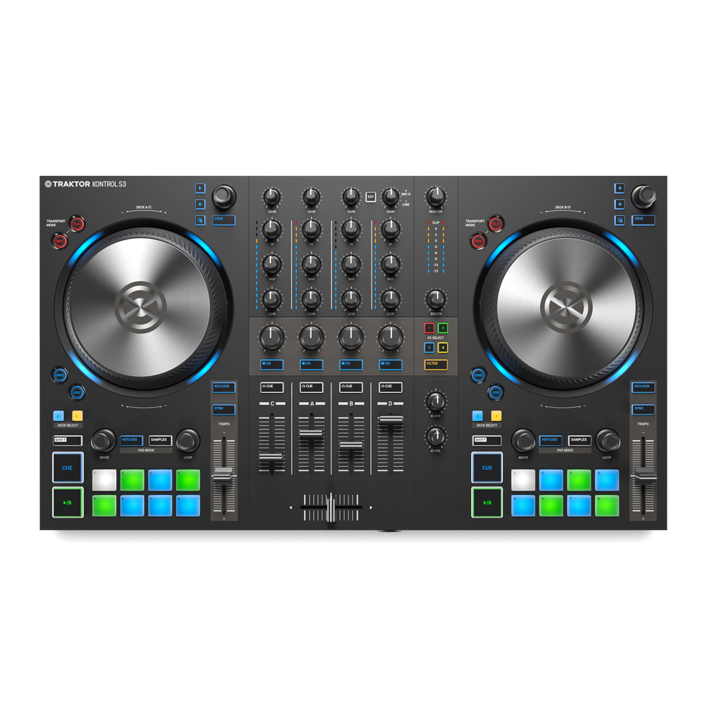 Native Instruments <br>TRAKTOR KONTROL S3