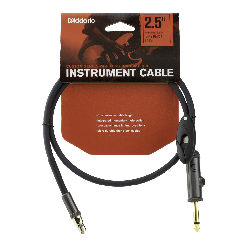 D'Addario <br>Wireless Transmitter Instrument Cables PW-WG-02