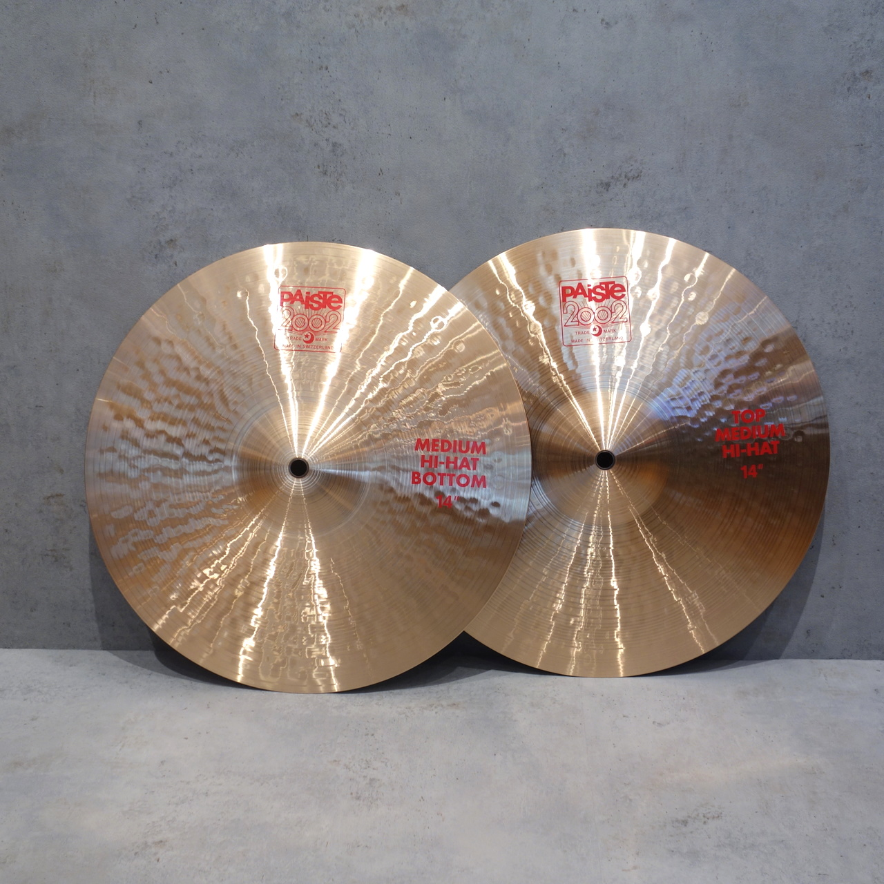 PAiSTe <br> 2002 Medium Hi-Hat 14″