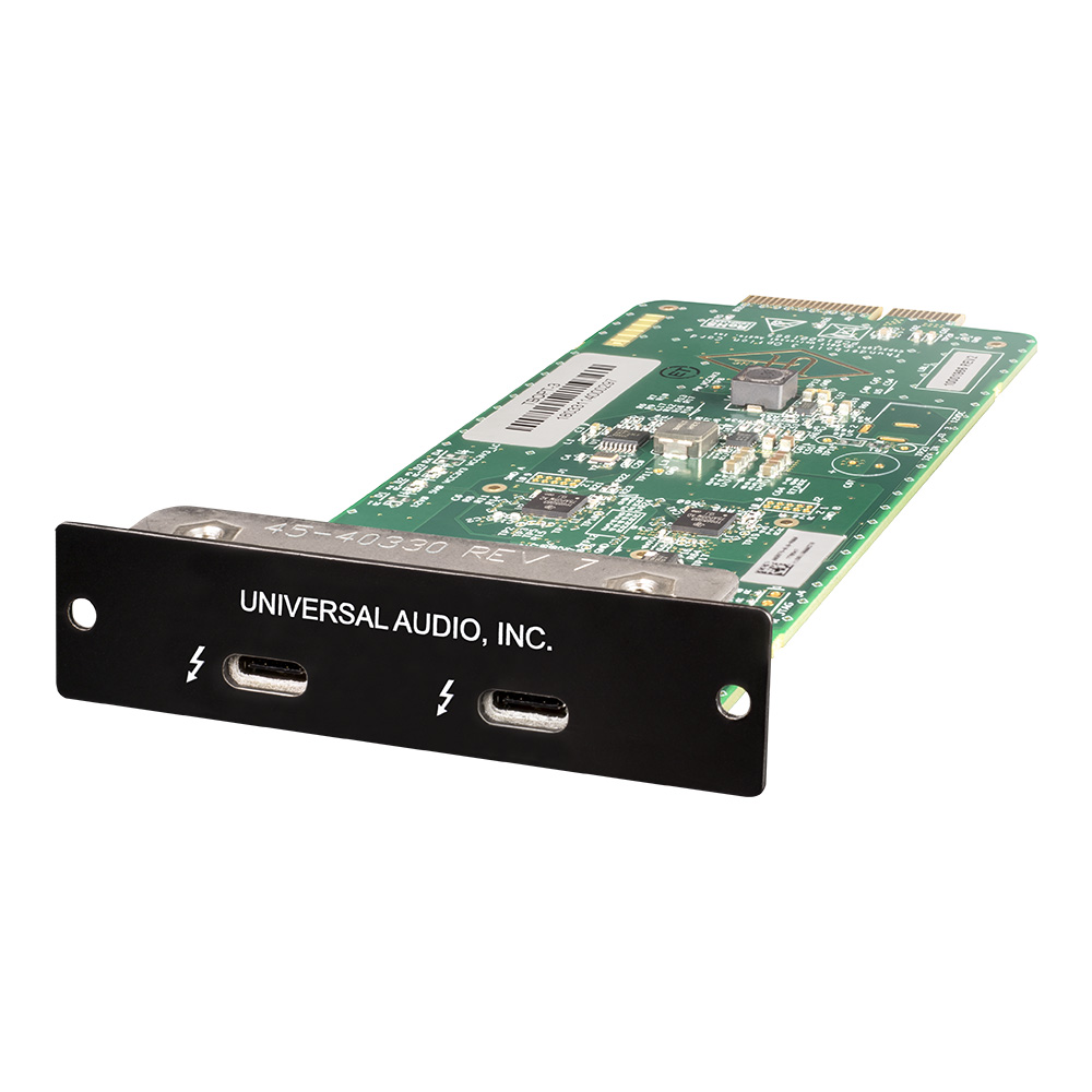 UNIVERSAL AUDIO <br>Thunderbolt 3 Option Card