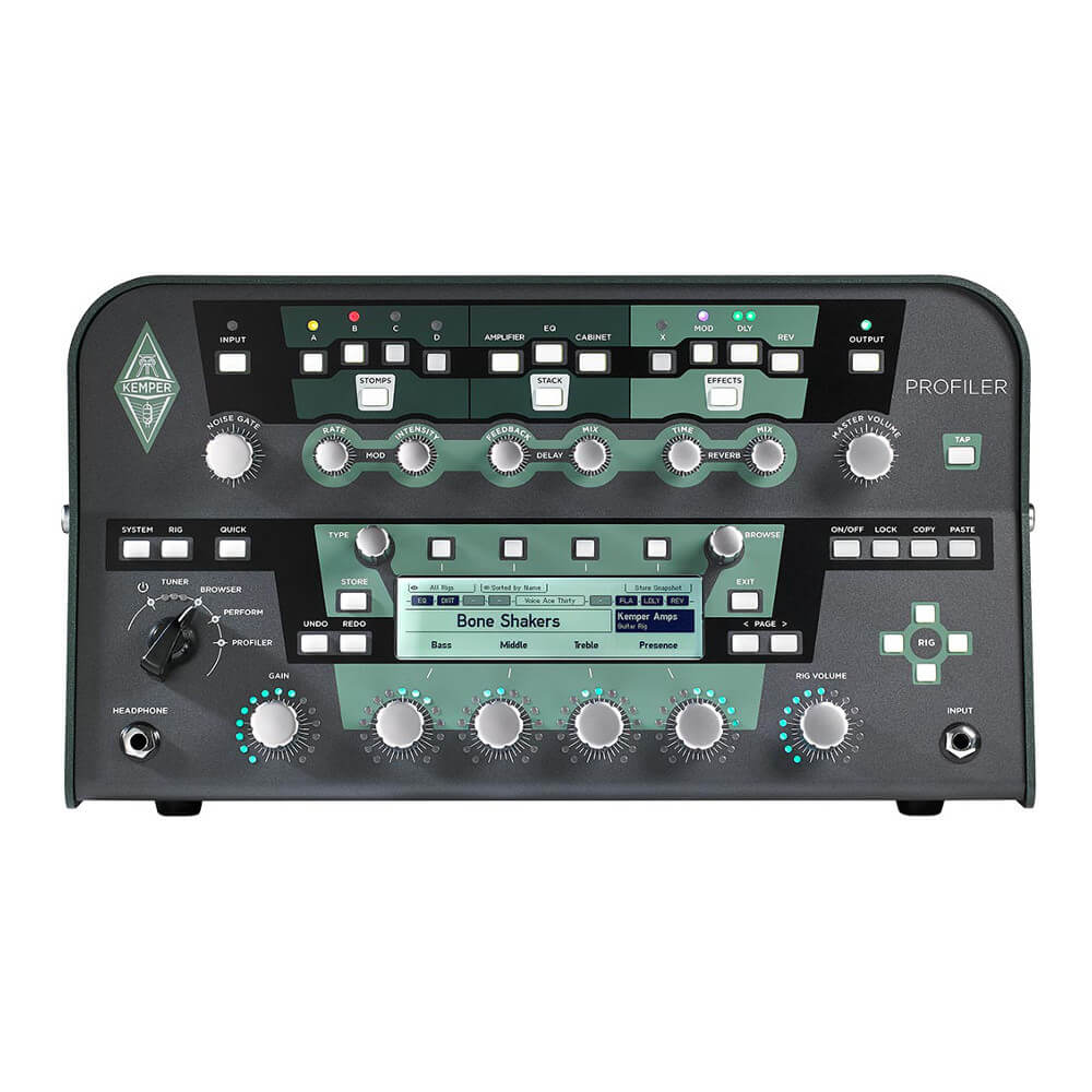 Kemper <br>Profiler Head Black