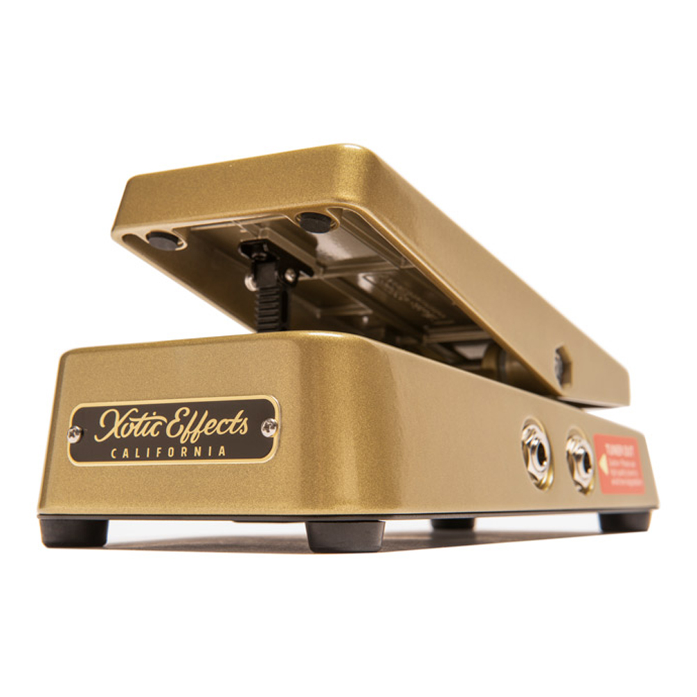 Xotic <br>XVP-250K (Gold Case) High Impedance Volume Pedal