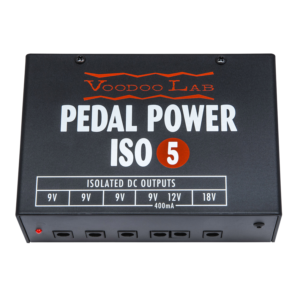 VOODOO LAB <br>Pedal Power ISO-5