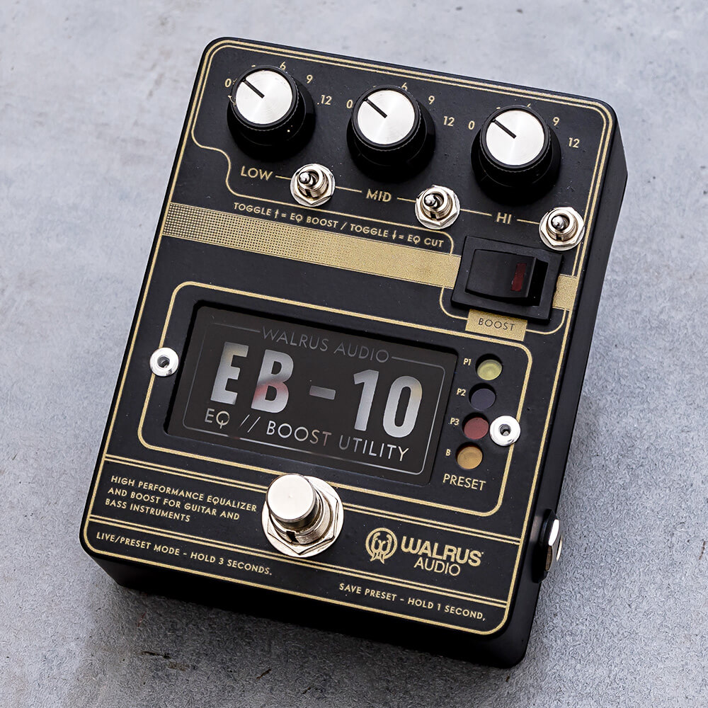 WALRUS AUDIO <br>EB-10 PREAMP//EQ//BOOST #B