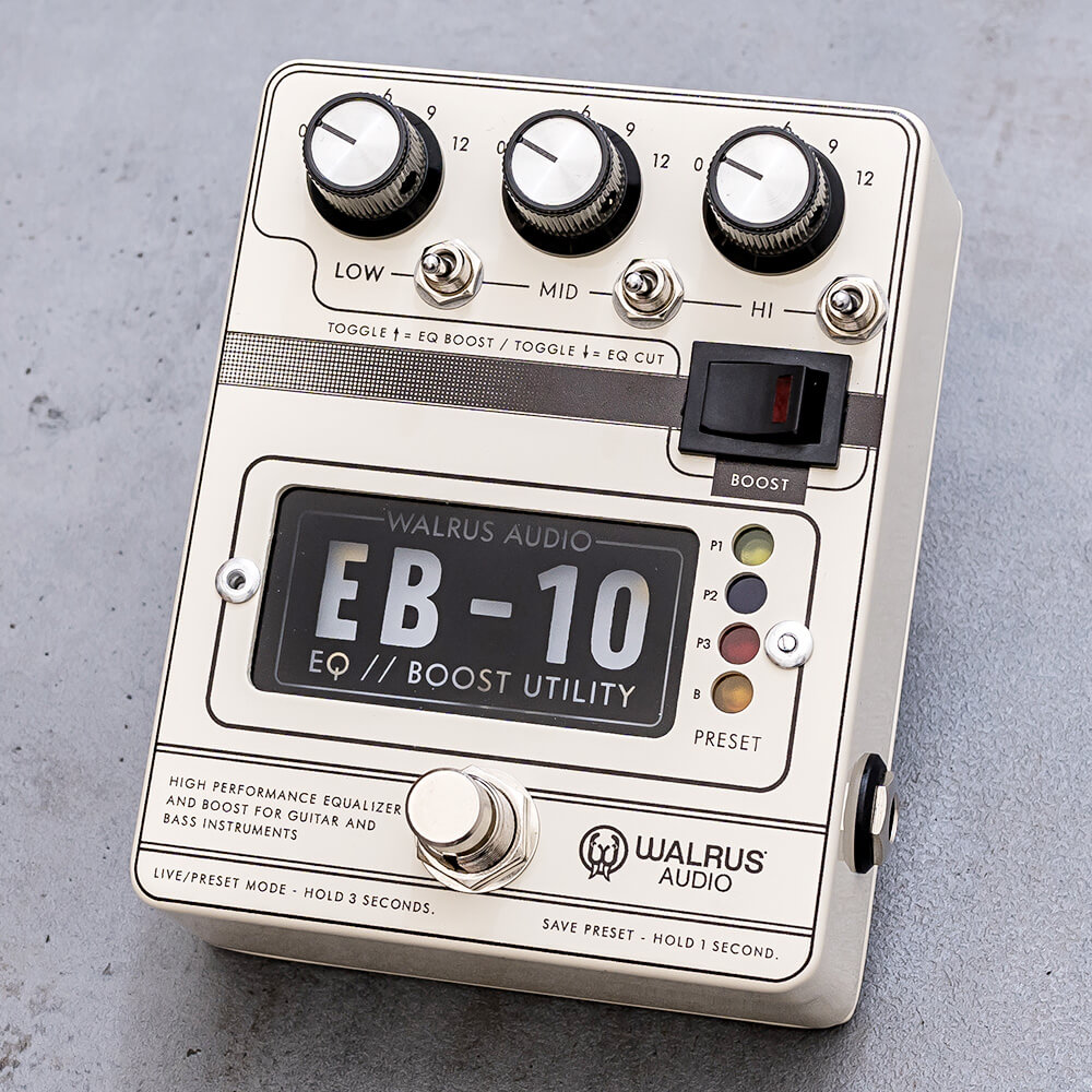 WALRUS AUDIO <br>EB-10 PREAMP//EQ//BOOST #C