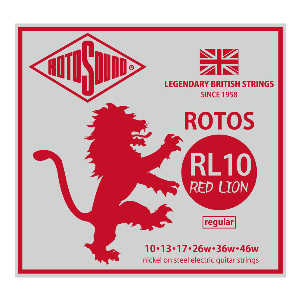 ROTOSOUND <br>RED LION RL10 [ROT-RL10]