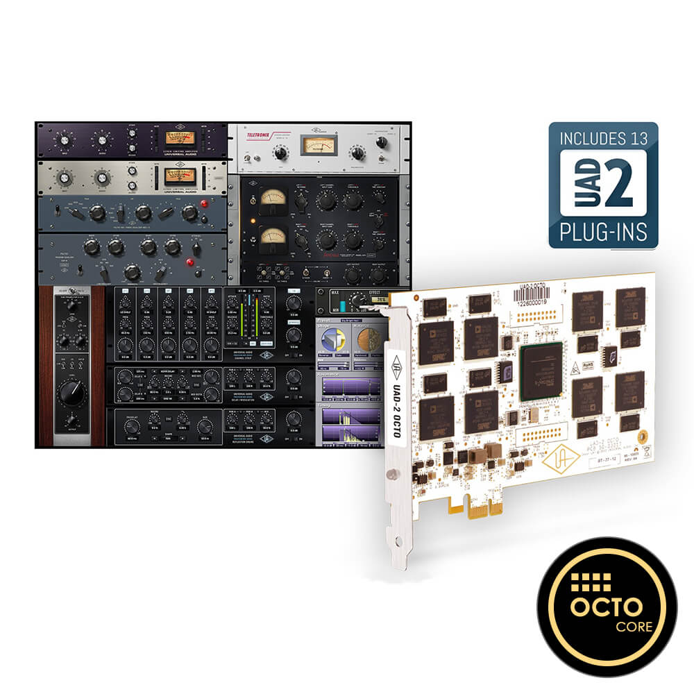 UNIVERSAL AUDIO <br>UAD-2 Octo Core