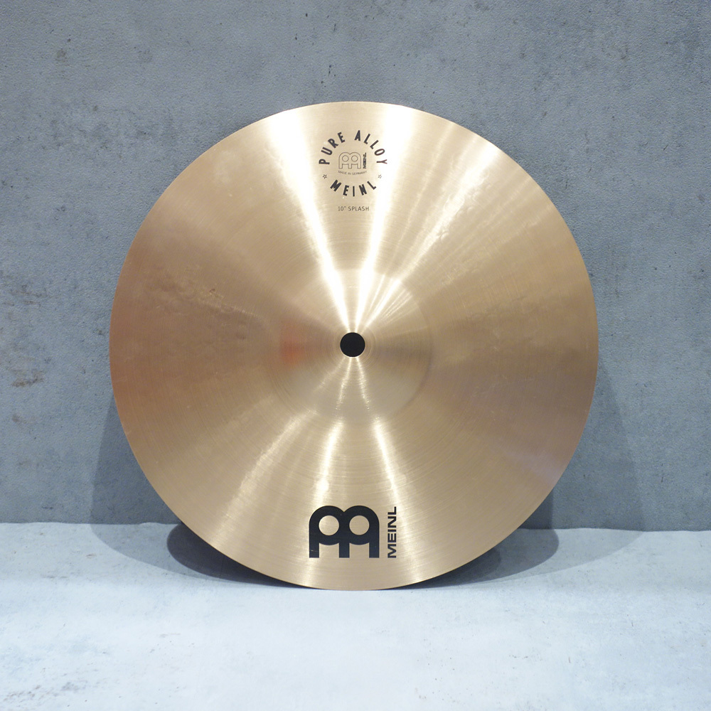 Meinl <br> Pure Alloy Splash 10