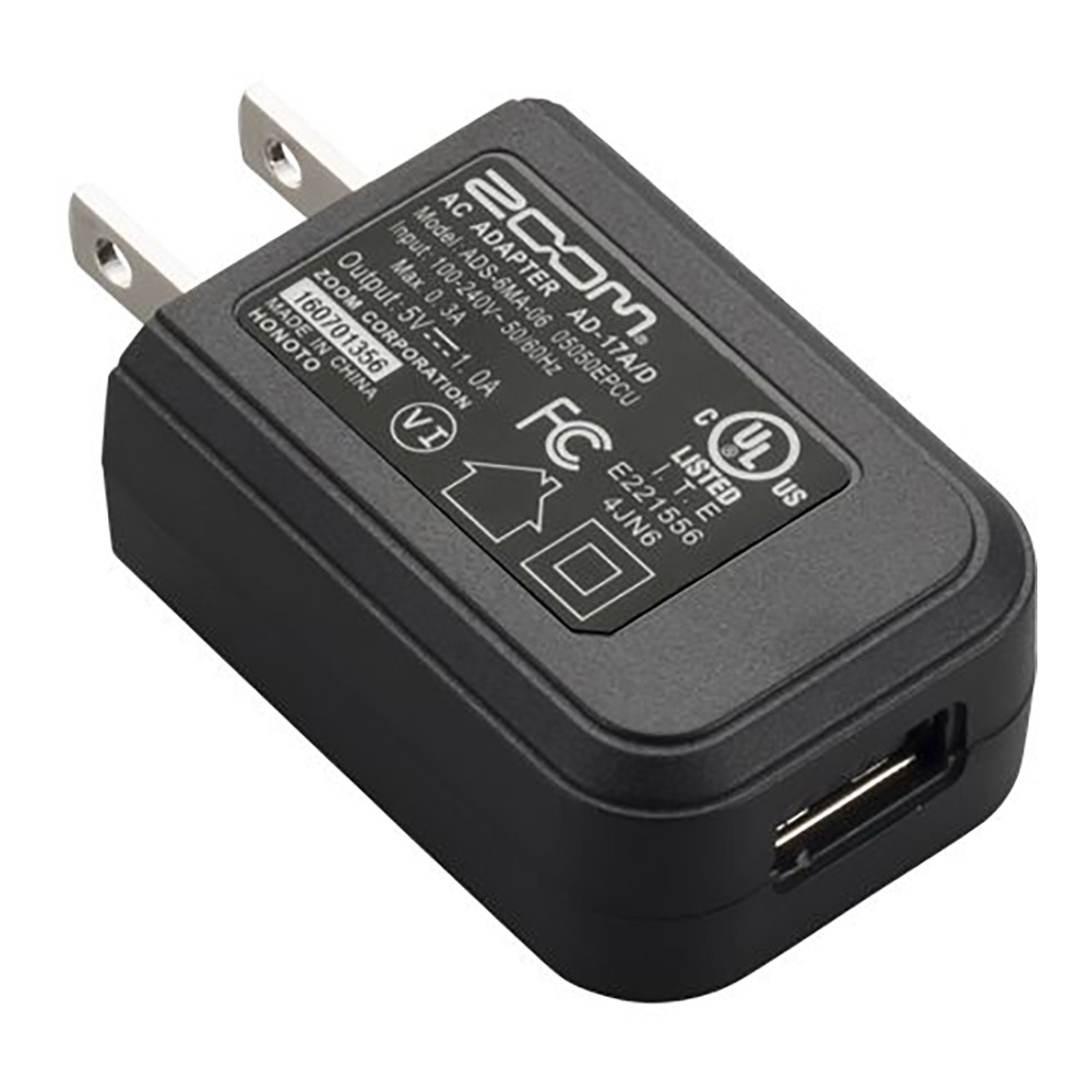 ZOOM <br>AD-17 DC5V USB AC Adapter