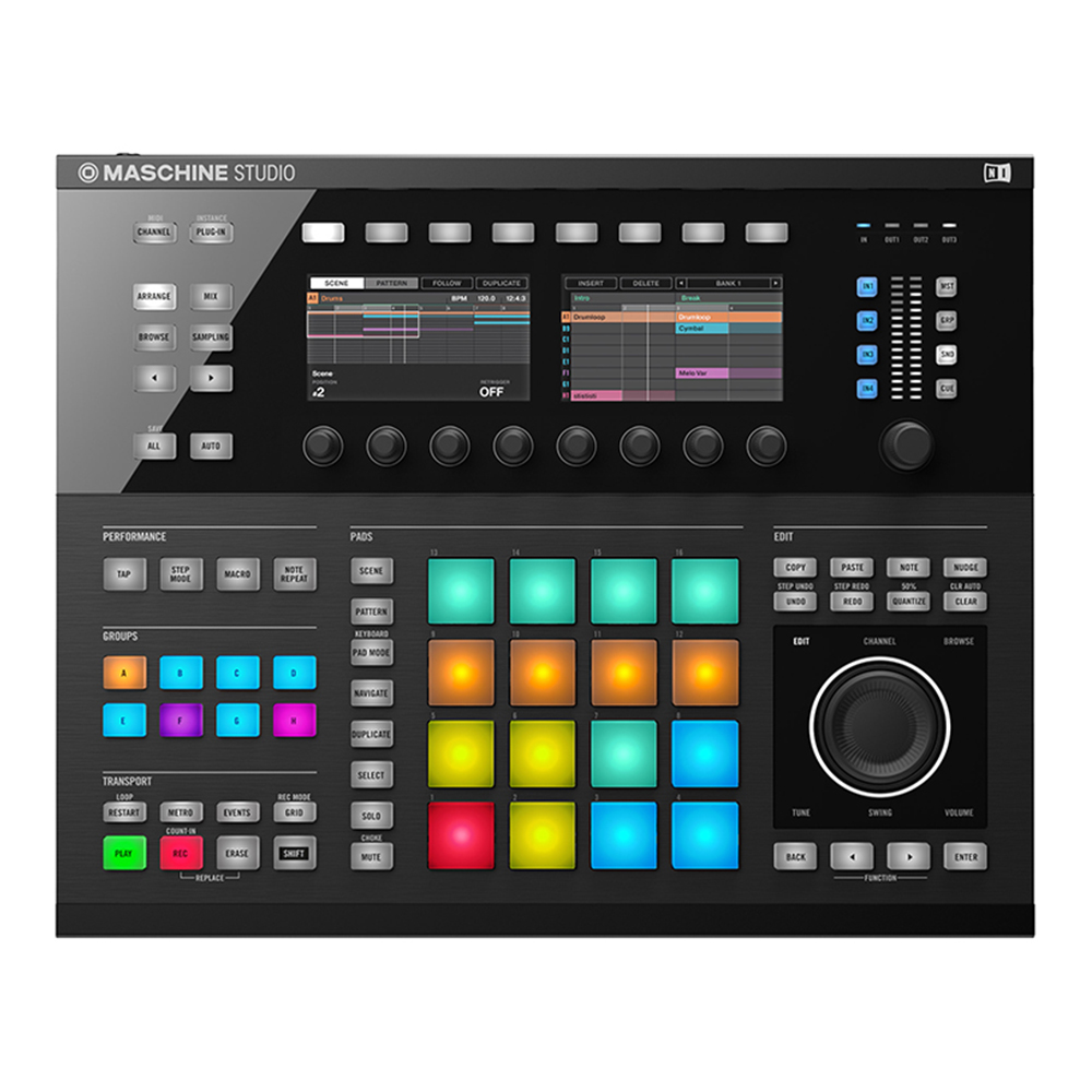 Native Instruments <br>MASCHINE STUDIO