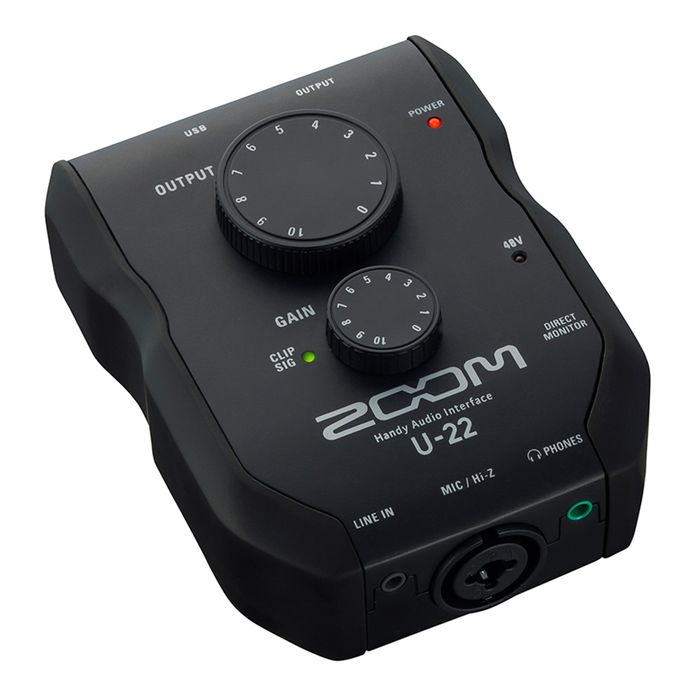ZOOM <br>U-22 Handy Audio Interface