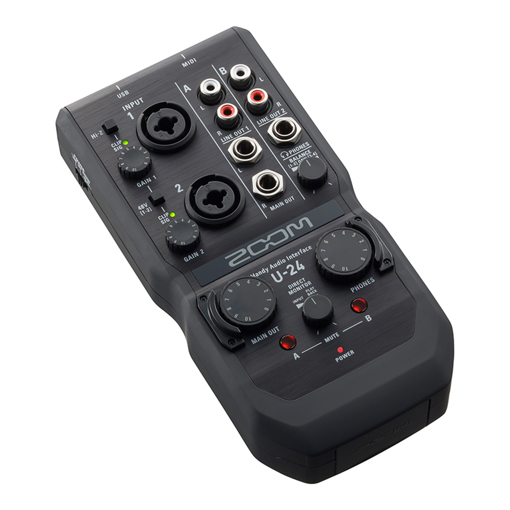 ZOOM <br>U-24 Handy Audio Interface