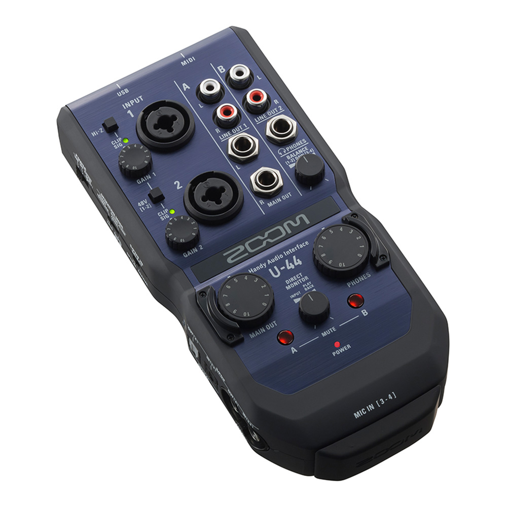 ZOOM <br>U-44 Handy Audio Interface