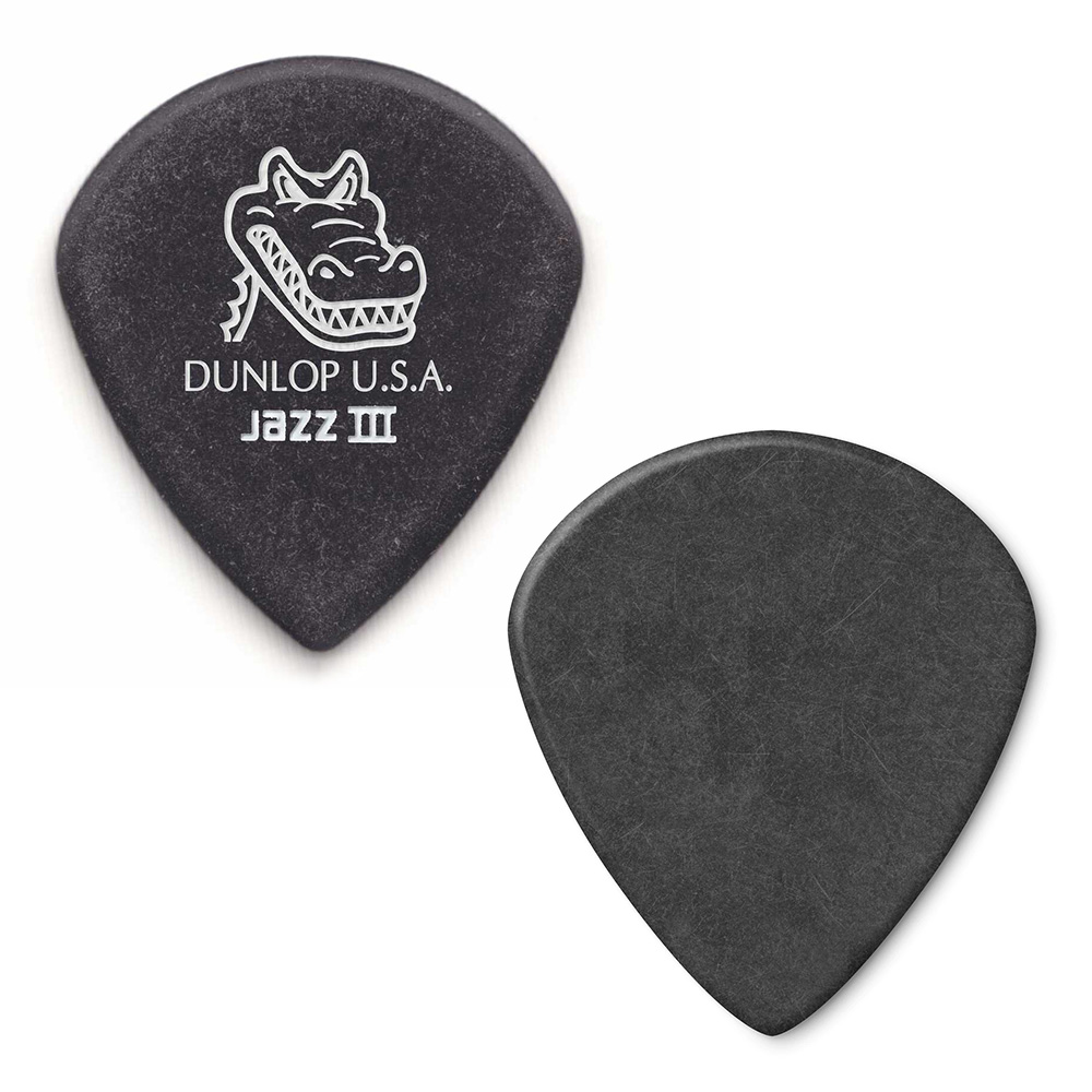 Jim Dunlop <br>571 GATOR GRIP JAZZ III 1.4mm 12枚セット