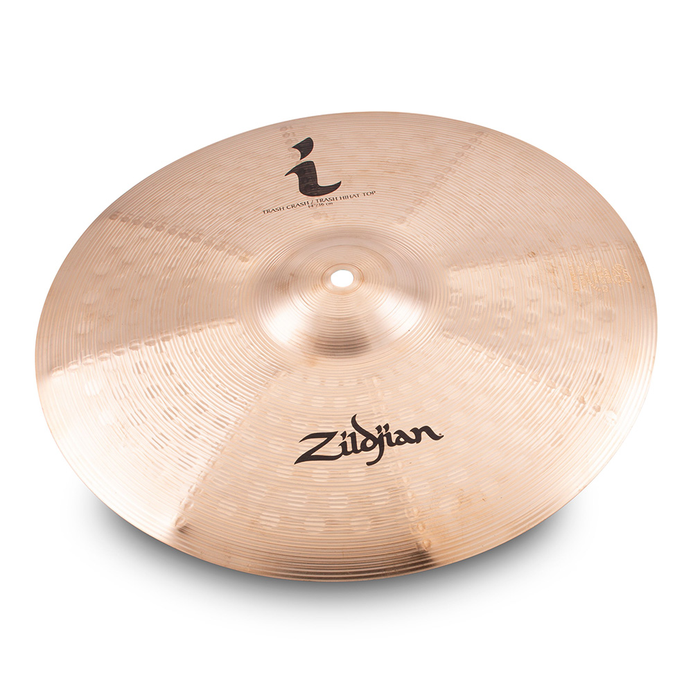 "Zildjian <br>14"" I Trash Crash / HiHat Top ILH14TRC"