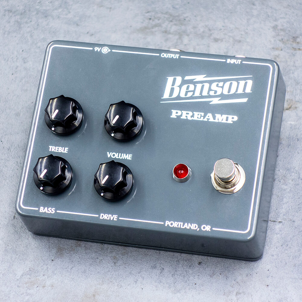 Benson Amps <br>Preamp Pedal