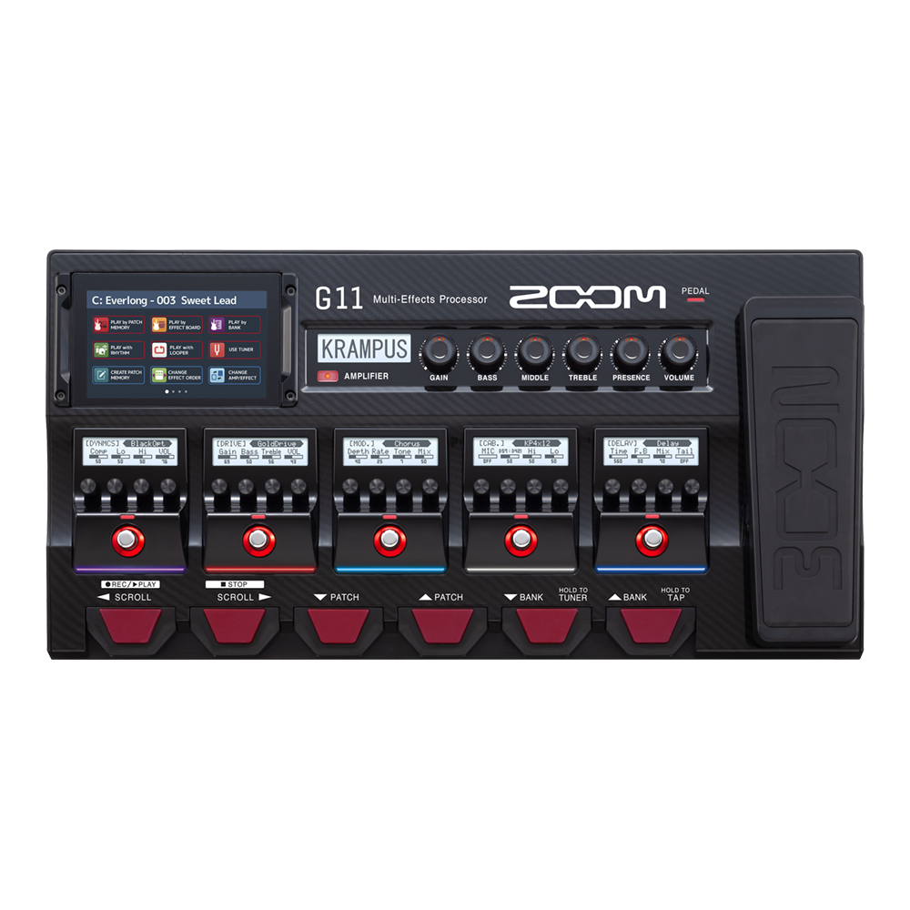 ZOOM <br>G11 Multi-Effects Processor