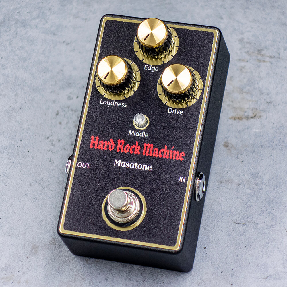 Masatone Effectifiers <br>Hard Rock Machine Black