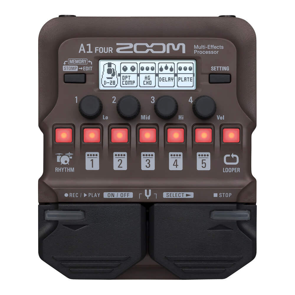 ZOOM <br>A1 FOUR Acoustic Multi-Effects Processor