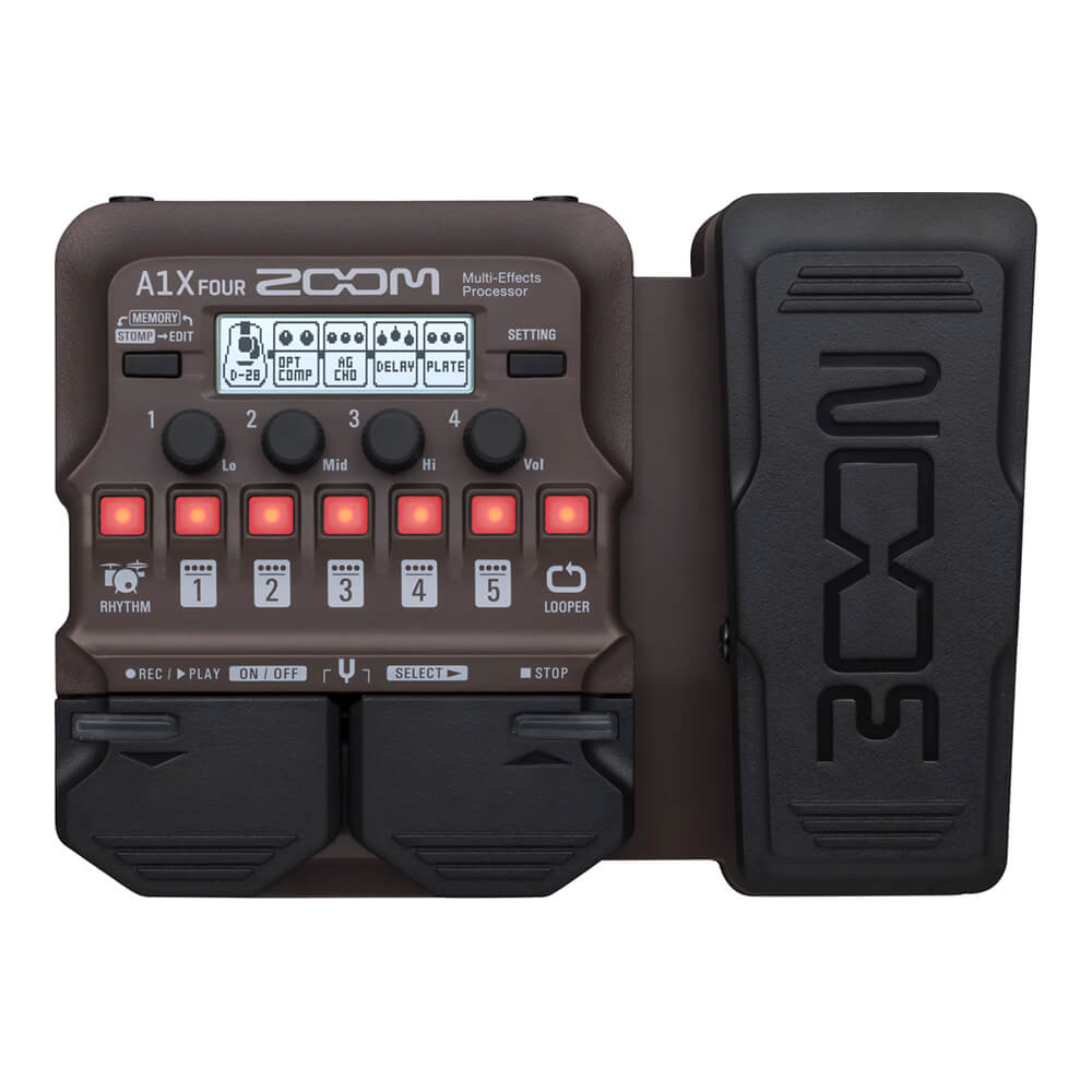 ZOOM <br>A1X FOUR Acoustic Multi-Effects Processor