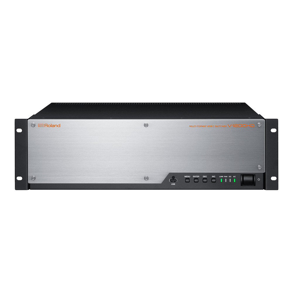 Roland <br>V-1200HD MULTI-FORMAT VIDEO SWITCHER